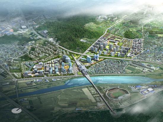 ▲ 광주시가 추진하는 &lsquo;광주역세권 도시개발사업&rsquo; 조감도. <광주시 제공>