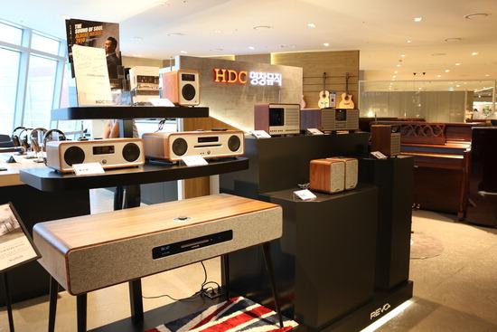 ▲ HDC영창이 전국 주요 매장에서 英 명품 오디오를 판매하기 시작한다.  <HDC영창 제공>