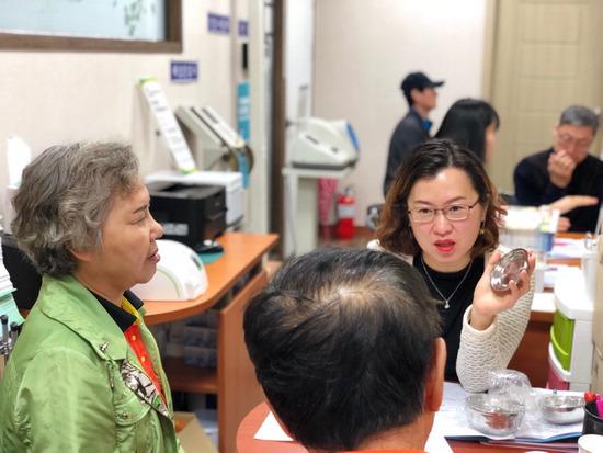 ▲ 하남시가 당뇨병 환자를 대상으로 일대일 맞춤형 관리 서비스를 진행하고 있다.  <하남시 제공>