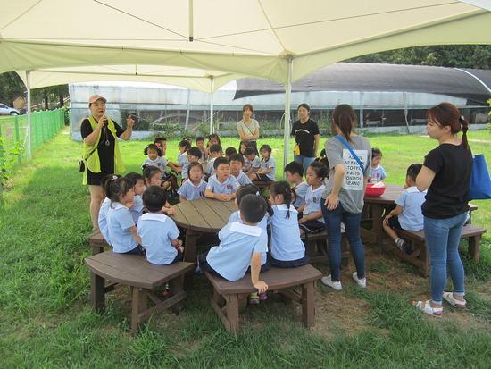 ▲ 구리시 곤충생태관이 &lsquo;여름방학 곤충생태교실&rsquo;을 운영, 참가한 어린이들이 프로그램을 즐기고 있다. <구리시 곤충생태관 제공>