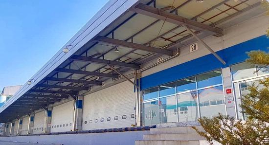 ▲ 위킵㈜이 최근 인천항 인근에 개장한 풀필먼트센터 전경.