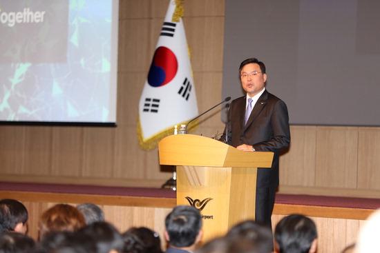 ▲ 인천국제공항공사 제8대 사장으로 취임한 구본환(58) 사장.