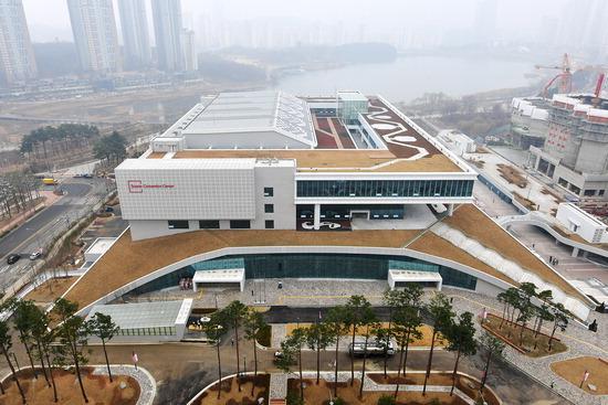 ▲ 수원컨벤션센터 전경. <사진=수원시>