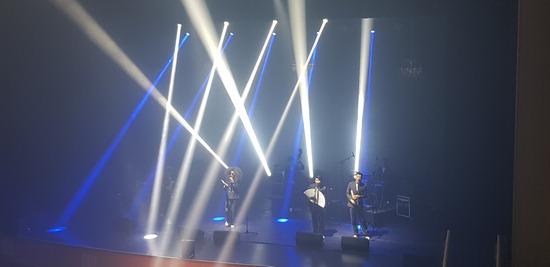 ▲ 22일 남양주 다산아트홀에서 상반기 마지막 기획공연 '한국남자' 공연이 진행되고 있다. <남양주시 제공>