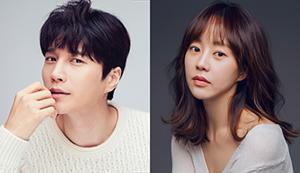 ▲ BIFAN 개막식 사회를 맡은 배우 김다현(왼쪽)과 유다인.  <BIFAN 제공>
