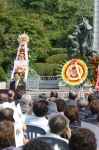 재일학도의용군 한국 전쟁 참전기념식