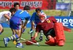 -아시안게임- <하키> 한국, 일본에 4-0 낙승