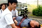 열차 모의탈선사고 복구훈련