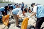 '깨끗한 바다만들기' 캠페인