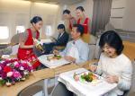 아시아나항공, 기내 교체