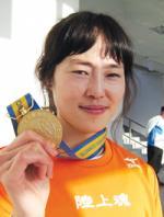 영광의 얼굴- 육상 여 일반 400M의 최주영(남동구청)