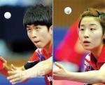 가뿐한 한국팀, 가열찬 중국팀