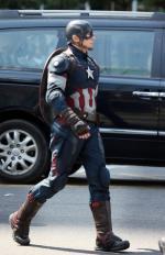 크리스 에반스 촬영 현장, 캡틴 아메리카 상암동에 떴다!
