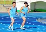 북한 육상, 끈끈하게 치열하게 훈련