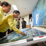 북한 접경지역 안보태세 점검