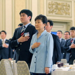 박 대통령, 국제기능올림픽 선수단과 오찬