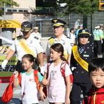 이천서, 안흥초 앞서 어린이 교통사고 예방 캠페인