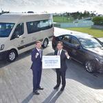 현대자동차, 프레지던츠컵 공식 차량 전달