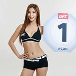 유승옥, 'UFC 서울' 옥타곤 걸 발탁…아리아니와 섹시미 대결