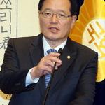 """정 의장 """"총선도 탈당도 없을것""""…거취논란 진화"""