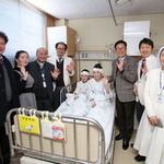 부천성모병원서 청각 찾은 몽골 자매