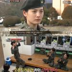 '진짜사나이' 나나, 오렌지캬라멜 섹시댄스로 동기 의무 부사관 홀렸다