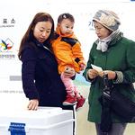 인천 투표 현장 스케치