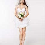 홍진영, 웨딩 속옷 섹시 볼륨 몸매 공개 '시선강탈'