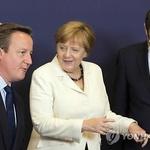 """메르켈 """"과실따먹기 불용"""" vs.캐머런 """"EU 이민정책실패 책임"""""""