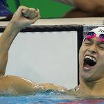 쑨양, 자유형 200m서 아시아인 첫 금메달