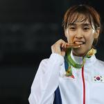 김소희, 태권도 첫 금메달…여자 49㎏급 우승