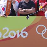 '박인비' 올림픽 금메달 반환점