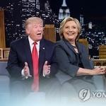 美대선 TV토론 아침 밝았다 …'힐러리 vs 트럼프' 누가 웃을까