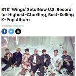 방탄소년단, 빌보드 차트 26위 한국 가수 최고 기록