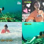 '정글의 법칙' 나라, 여자 최초 10m 프리다이빙 성공∙…'인어공주' 등극