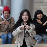 정승오 감독과 이란희·윤서형 배우 독립영화 '동상이몽'팀