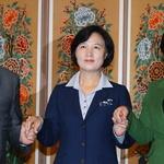 야 3당, 박 대통령 퇴진운동 다시 맞잡다