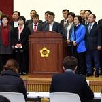 도의회 새누리 의원들 남경필 도지사 탈당 유감