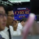 원·달러 환율 닷새째 상승세… 1,190원대 돌파