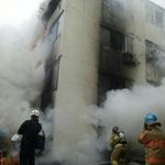인천 서구 가정동 빌라 지하서 화재…  1명 부상·일부 주민들 연기 마셔