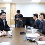 남경필 지사, 美 전 하원의원과 한미 동맹 논의