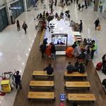 한산한 인천공항