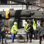 긴박감 넘치는 미군 전시 대량사상자 후송훈련