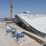 인천공항 제2터미널 막바지 공사