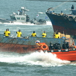 불법 외국 어선 단속 시범훈련