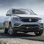 쌍용차 SUV 새 라인업 'G4렉스턴'