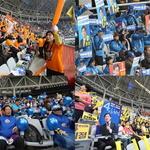 민주당 경선 응원전도 후끈