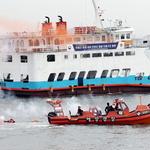 해상안전 이상없다… 유람선 화재 대비 훈련