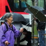 우산이 왜 이럴까