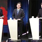 대선 '스탠딩' TV 토론… 5인 5색 설전